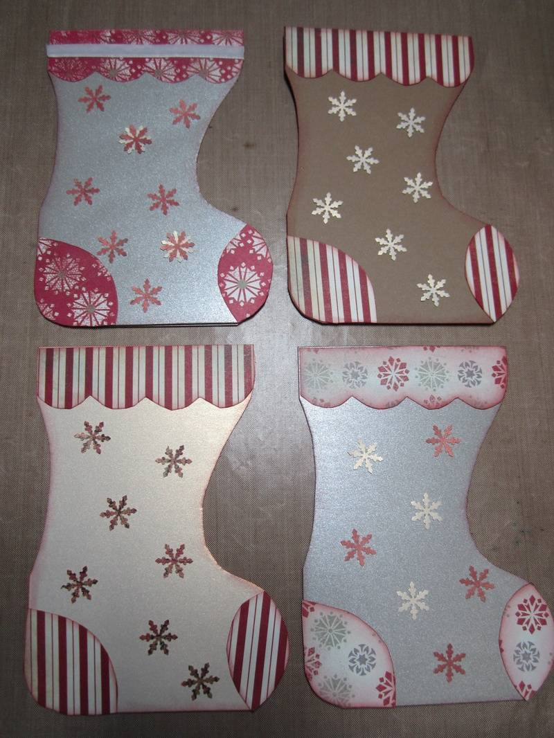 Christmas Stocking Cards