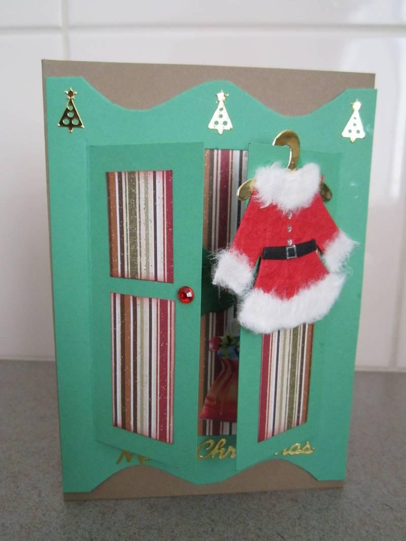 Striped Santa Wardrobe