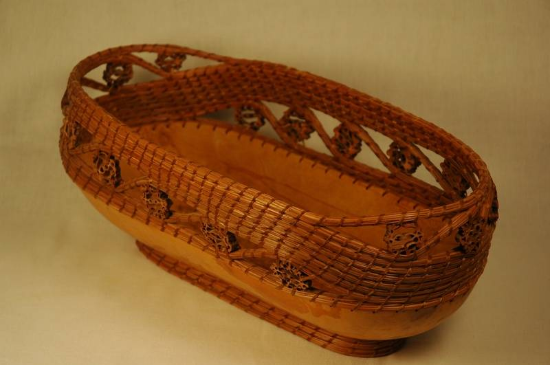 Black Walnut Bread Basket
