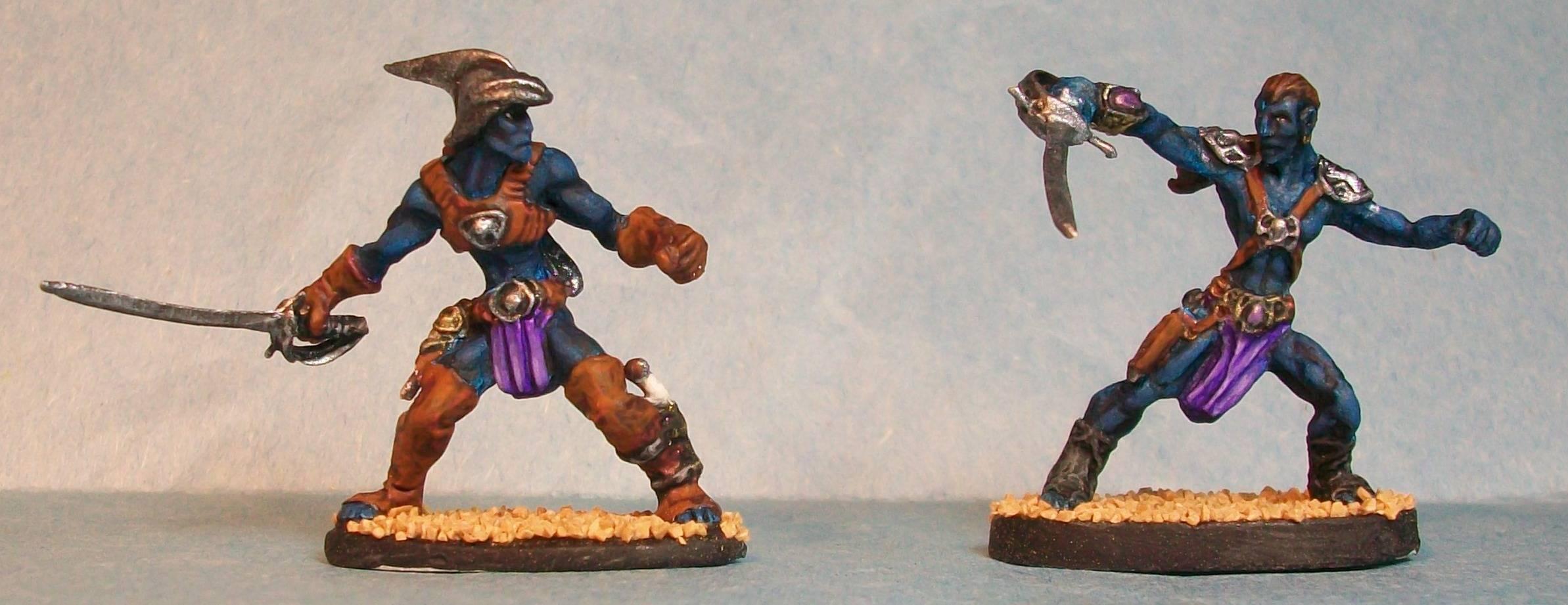 Male Black Pirate Warriors