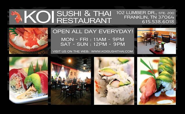 KOI Sushi & Thai Restaurant
