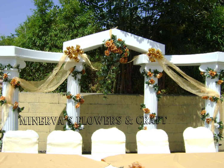 pilares para la ceremonia