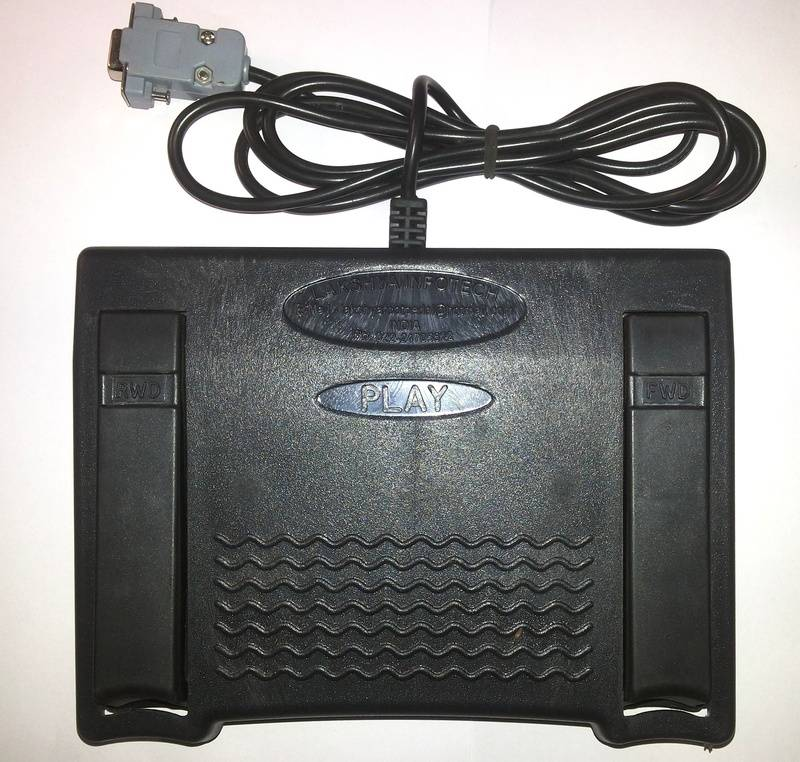 DB-9, COMPORT FOOTPEDAL (9pin)