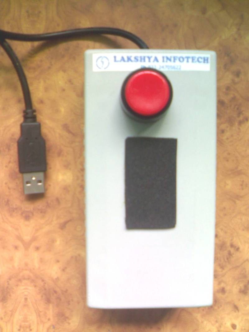 ONE  BUTTON  FOOTPEDAL