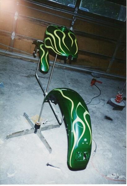 King sportster paint set