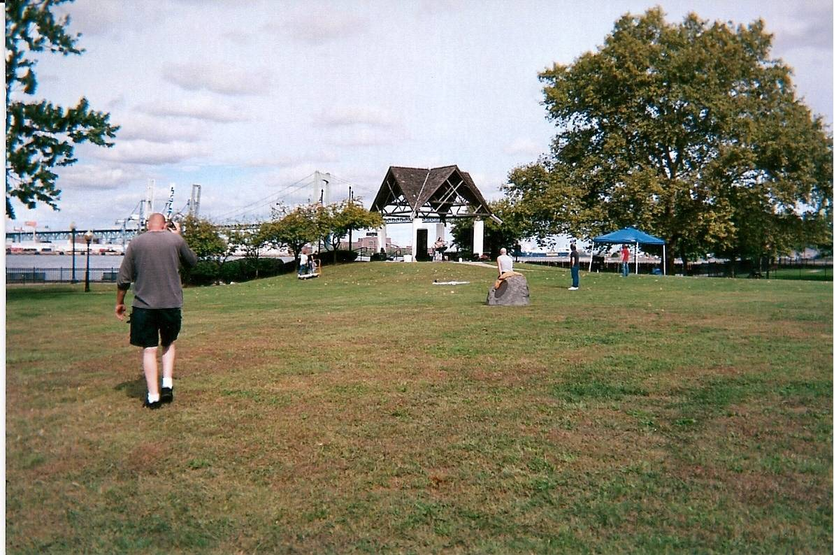 Festival Grounds leading to Bandstand
