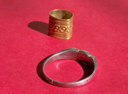 19th century 16k Gold Band