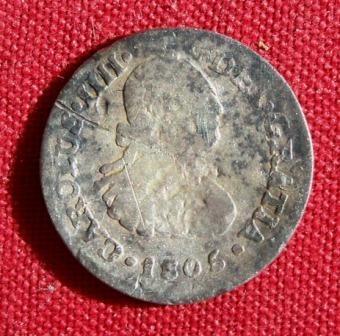 1805 Corolus IIII Half Reale