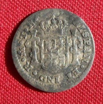 1805 Corolus IIII Half Reale reverse