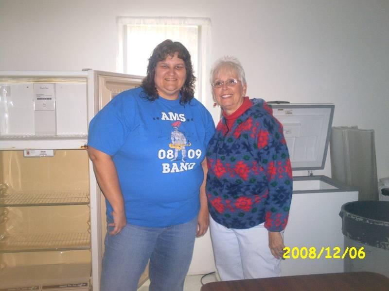 Vickie and Judy