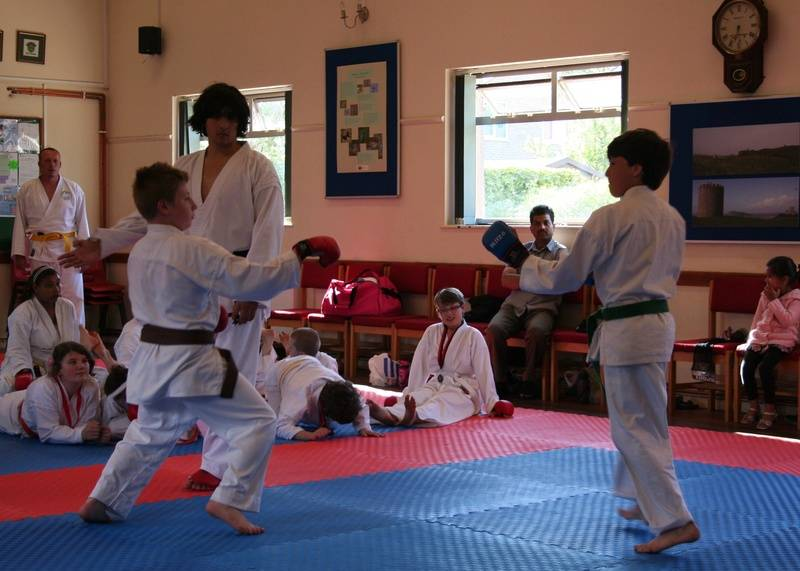Training and grading day June 2012