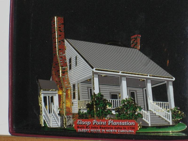 Sloop Point Plantation Ornament