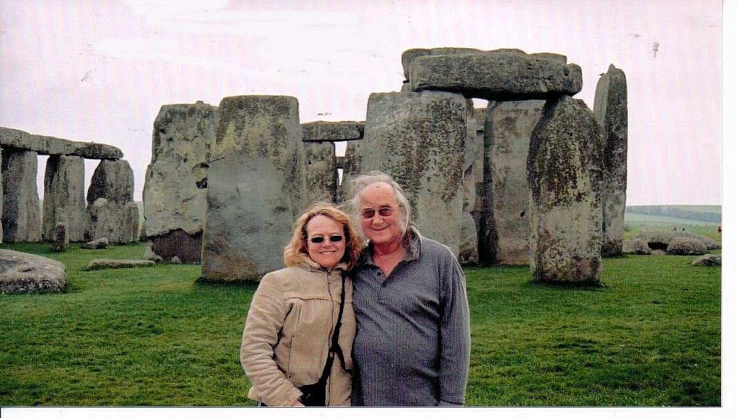 Nikki & Pete's first Adventures at Stonehenge and Avebury in 2003