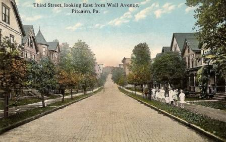 3RD Street from Wall Avenue