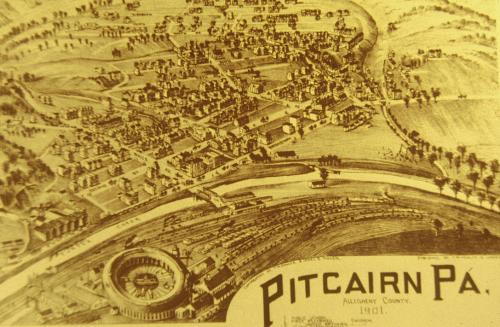 Drawing of Pitcairn - 1901