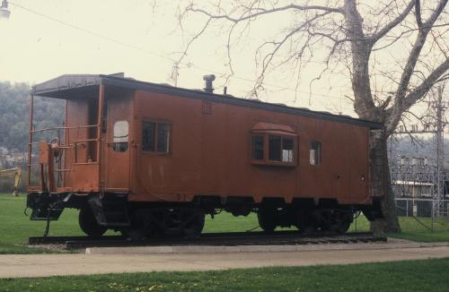 Railroad Caboose in Pitcairn