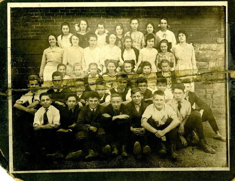Pitcairn High School c. 1921