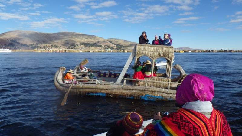 The Mercedes of Lake Titicaca!