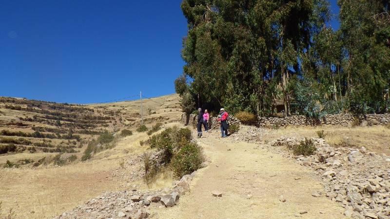 Climbing the Hill to Pacha Mama