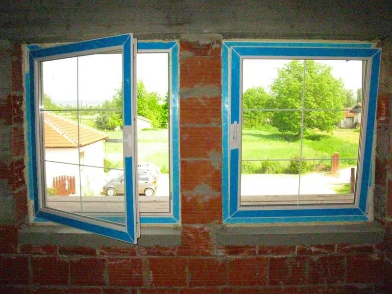 ednokrilni prozori