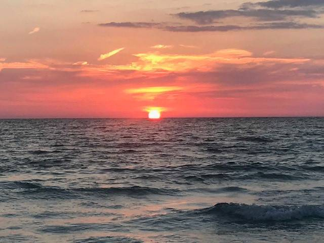 Sunset Indian Shores Fla.