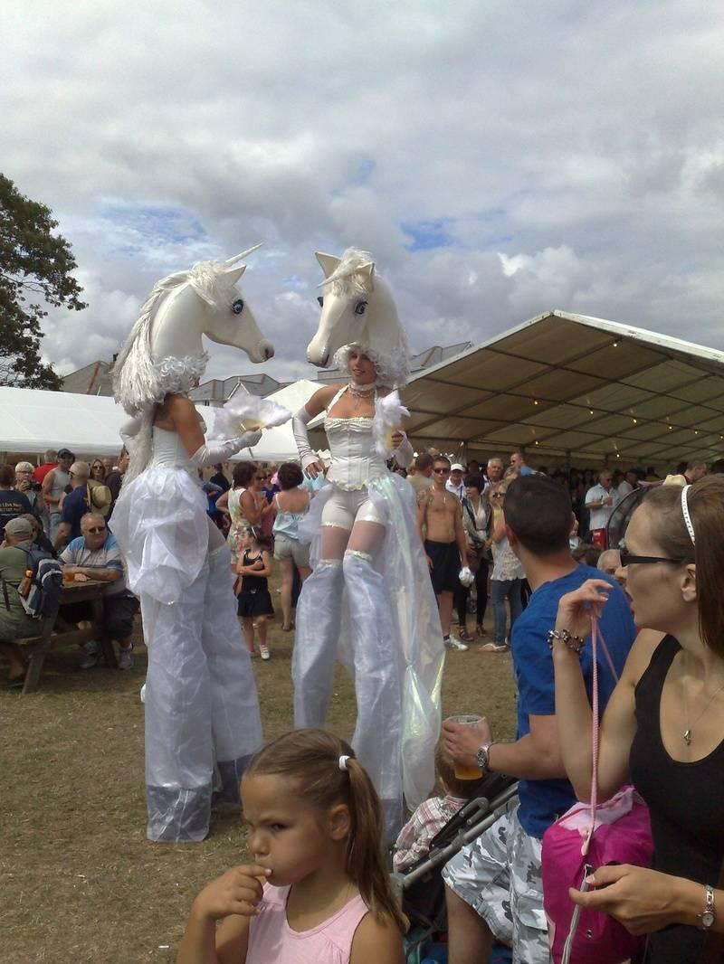 Swanage Carnival Horses