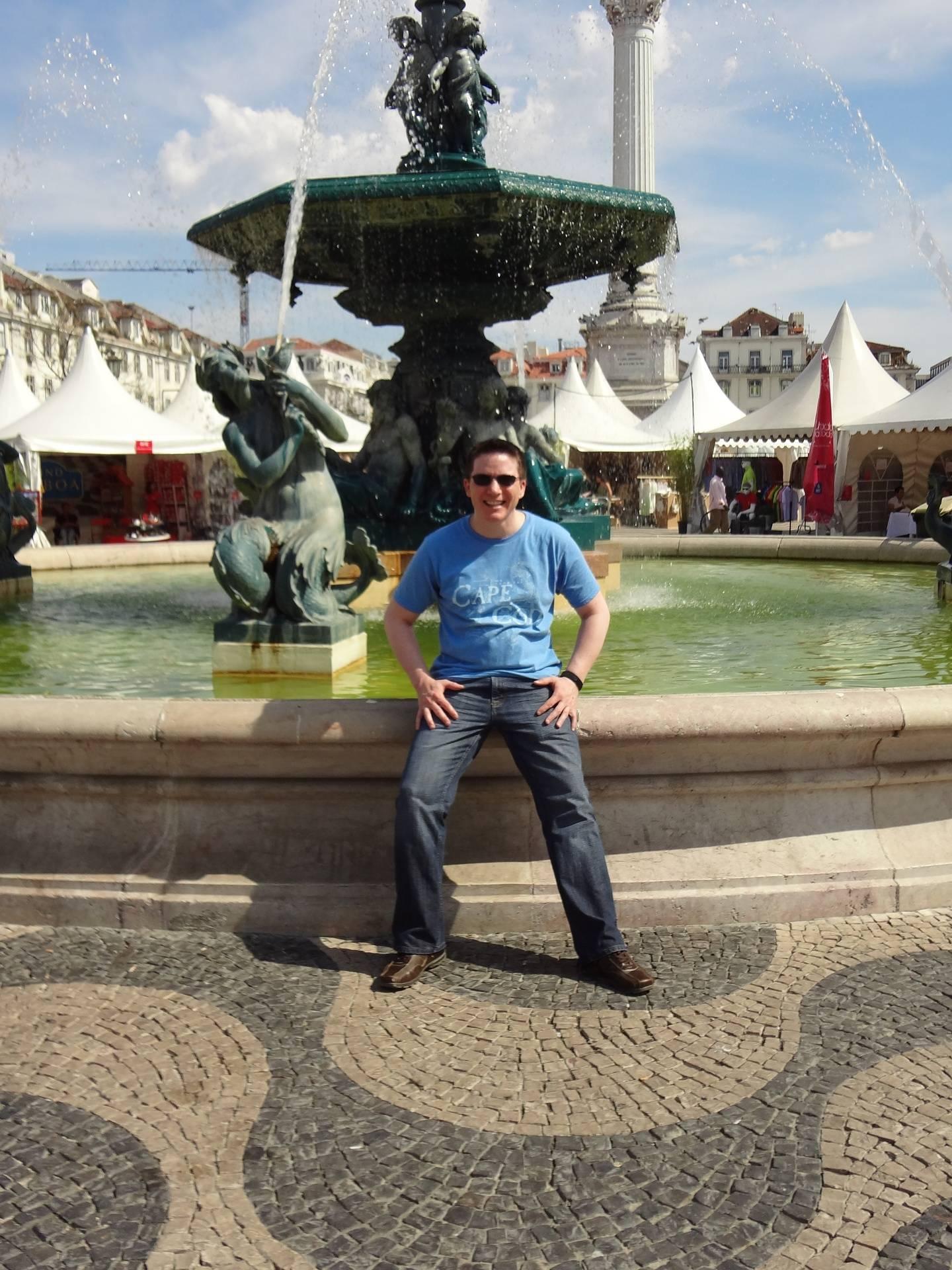 RickyHanson Fountain