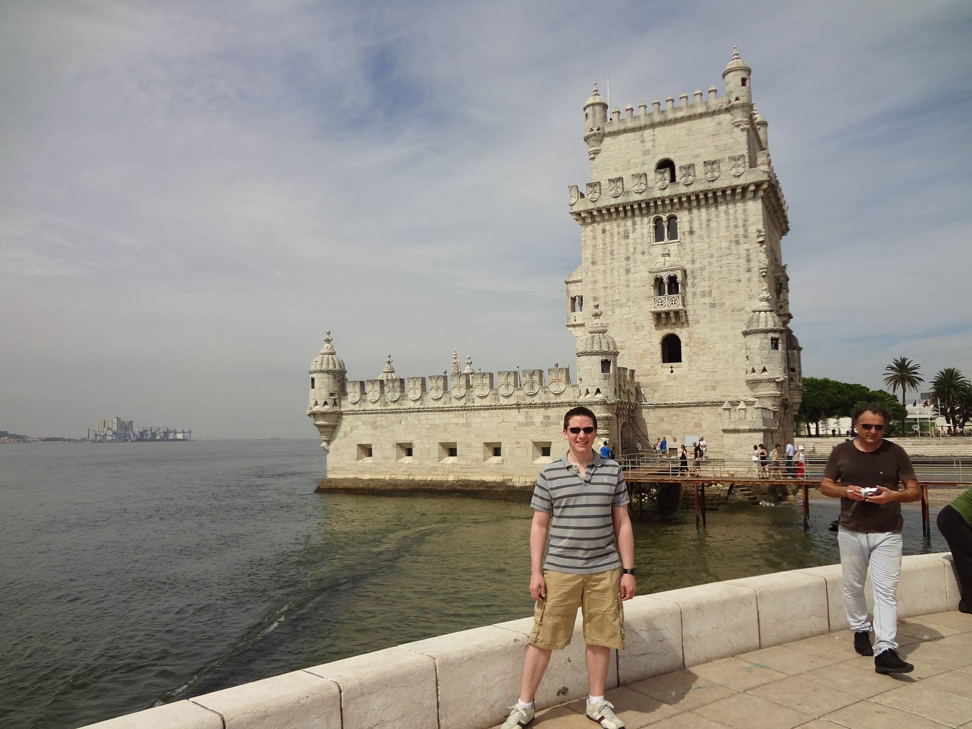 Ricky Hanson at the Tower of Belem