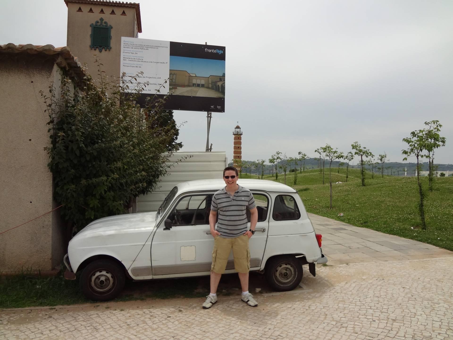 Ricky Hanson car