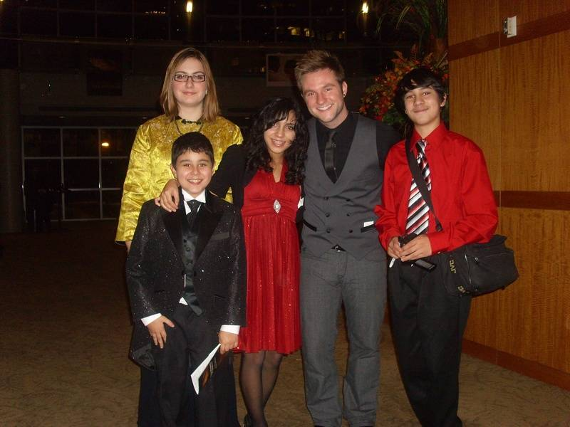 Blake Lewis and family
