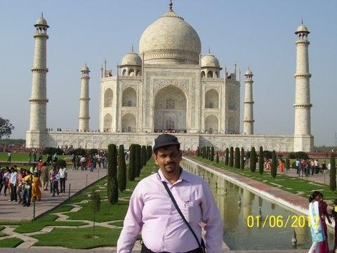 At SAARC Writers Meet Agra 2009