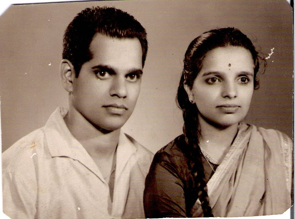 Aai and Baba long time ago