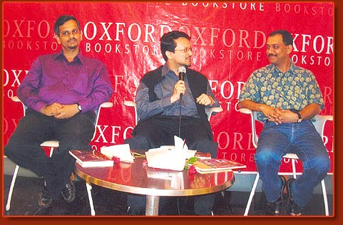 With Ranjit Hoskote and Hemant Divate