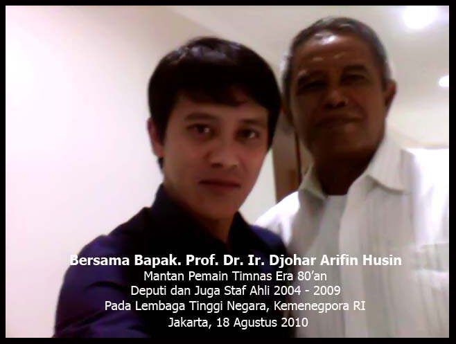 Bersama Bpk. Porf. DR. Johar Arifin Husein