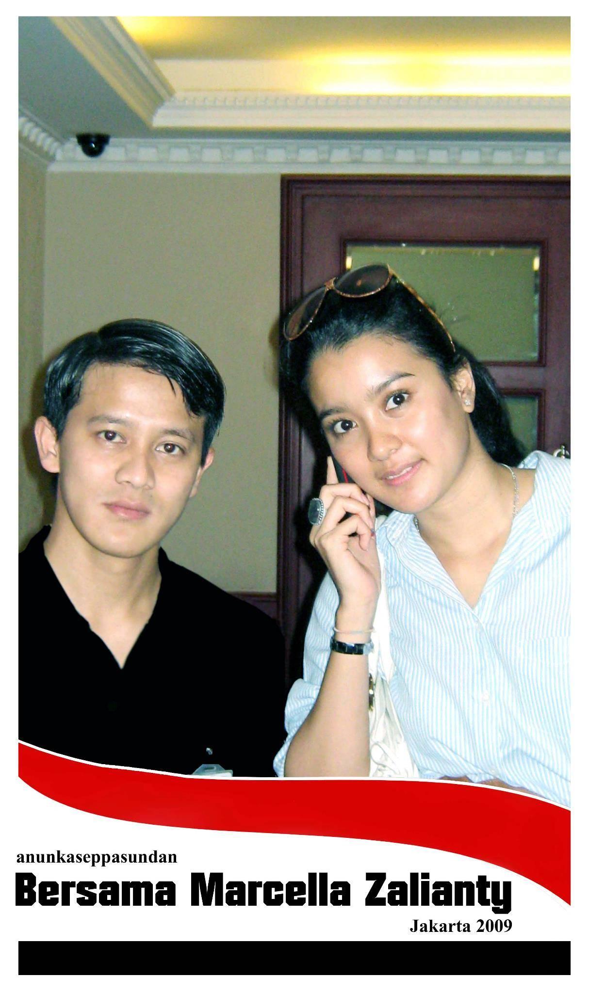 Bersama Marcella Zalianty