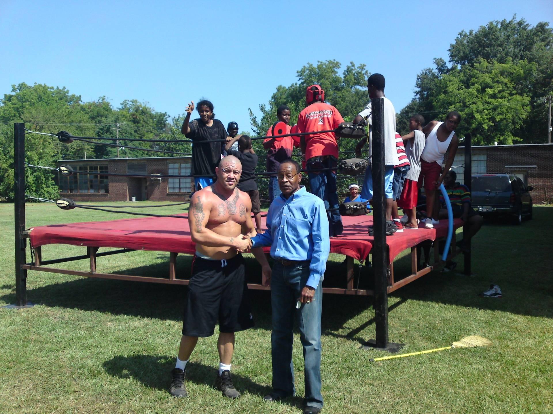 Rodney Mack and Dermott Mayor