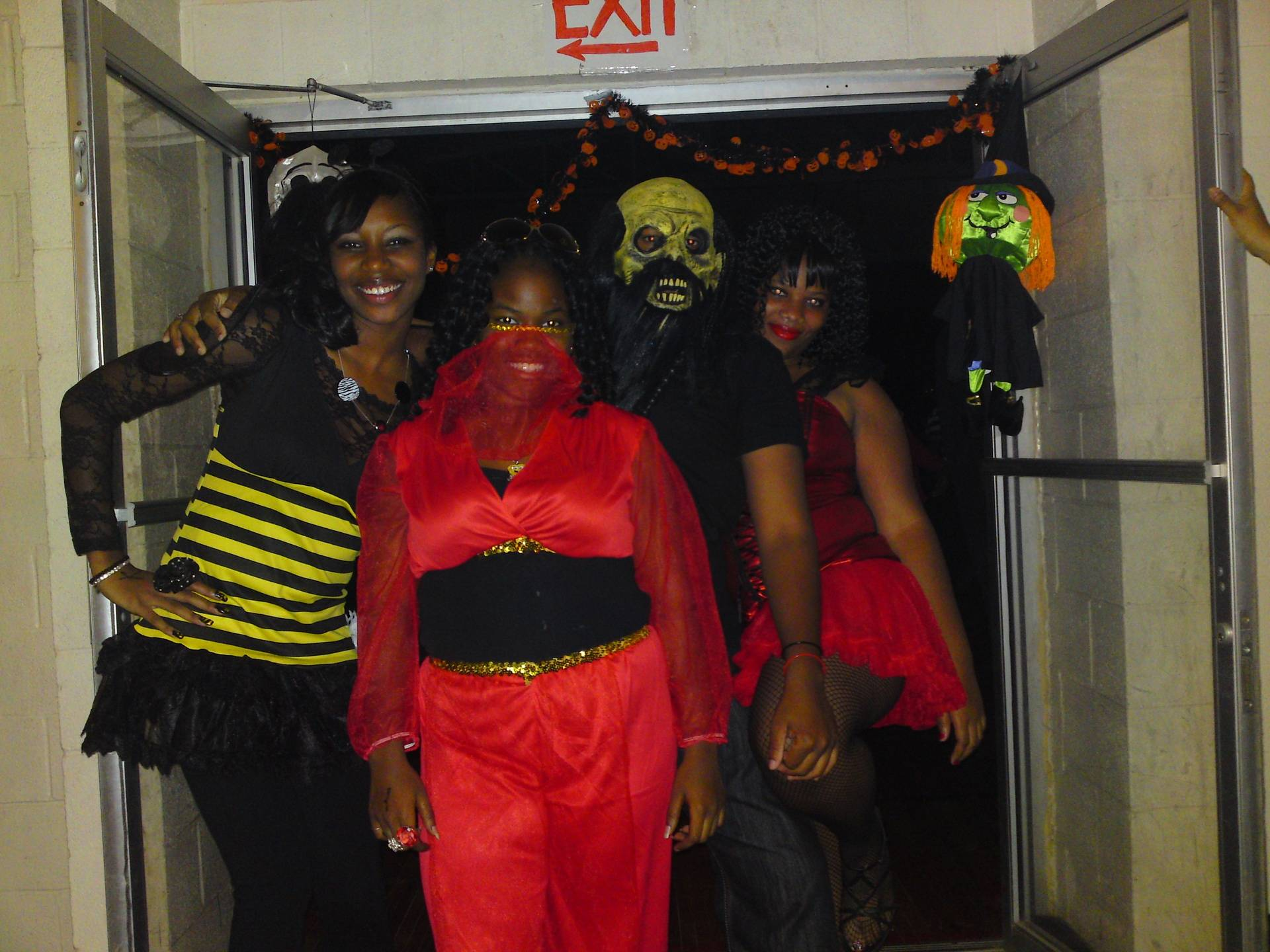 Soy's halloween party