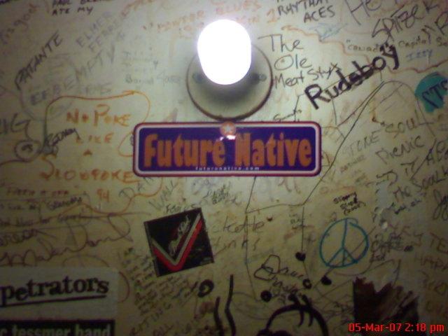 Future Native sticker in Toronto