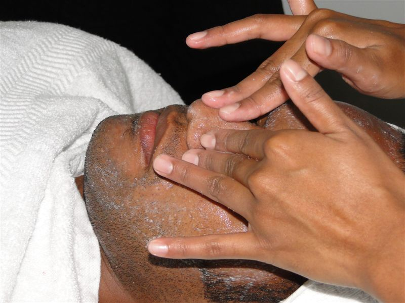 Men's Face Spa
