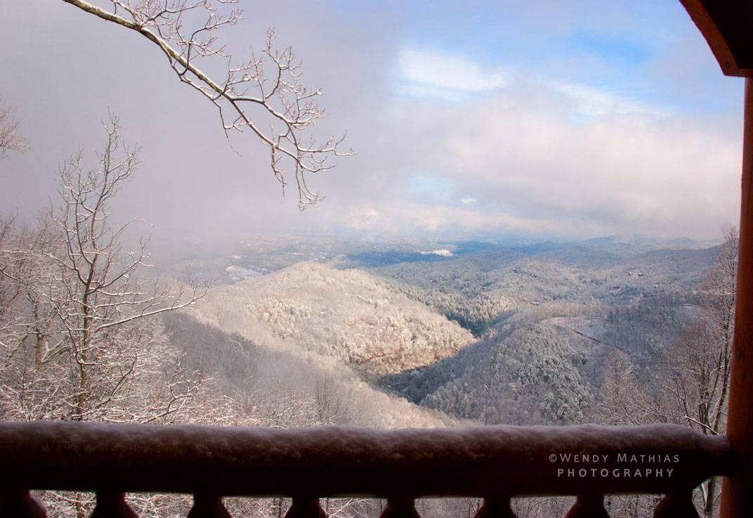 January mist