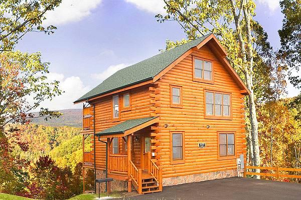 All-log cabin