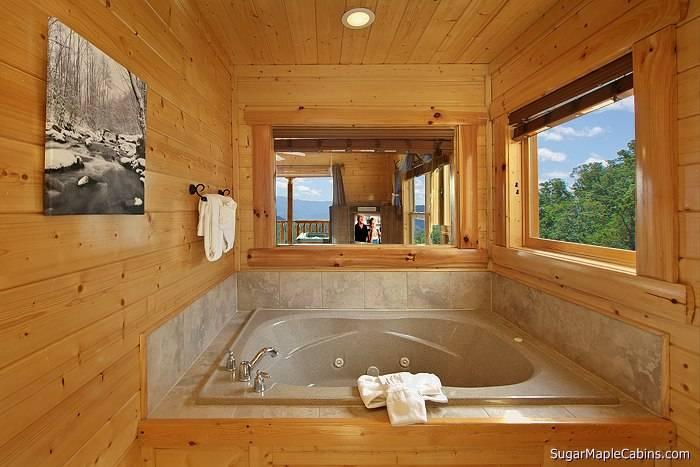 Indoor Jacuzzi - Master Bath