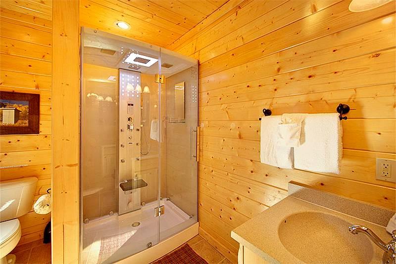 Steam Shower - Master Bath