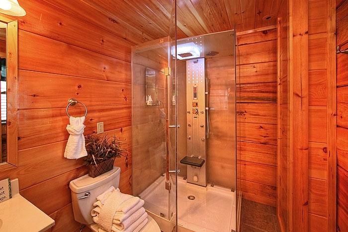 Main floor bath & Lower bath