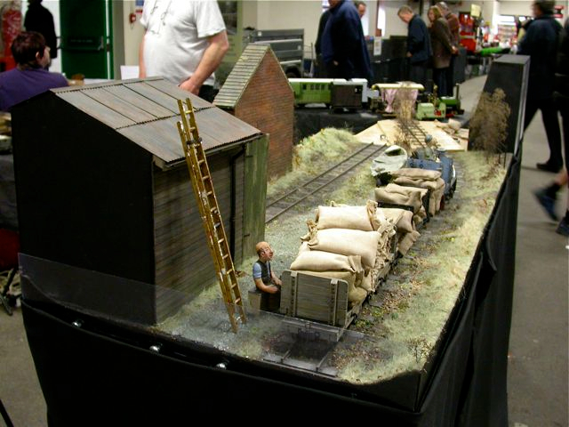 Overall View at an Exhibition.