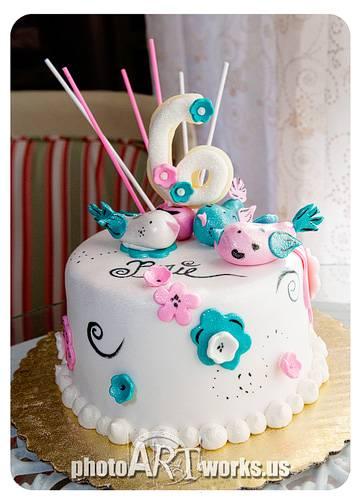 3 Bird Cake