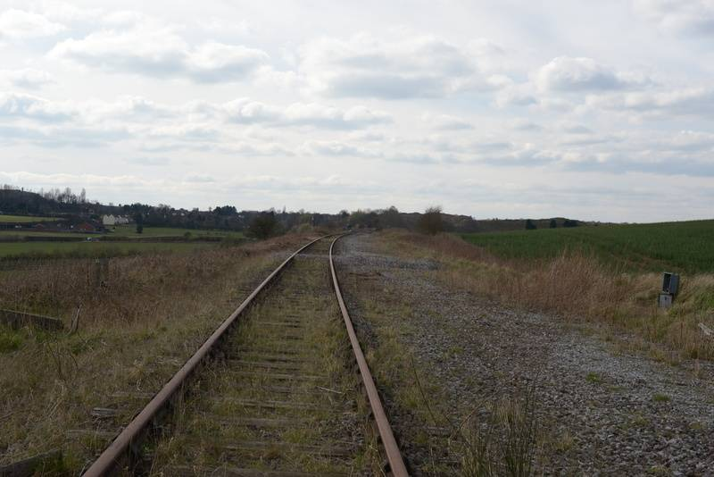 looking in the direction of Angelsea Sidings