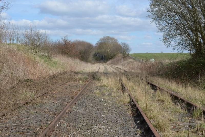 Taken from Dark Lane crossing looking towards Hammerwich