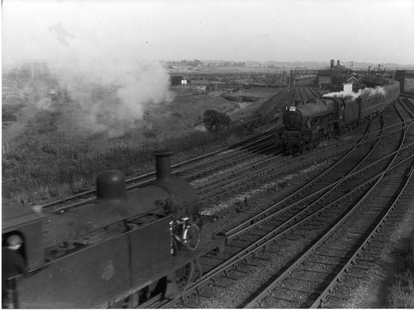 4ssss on ECS at Bescot 1957