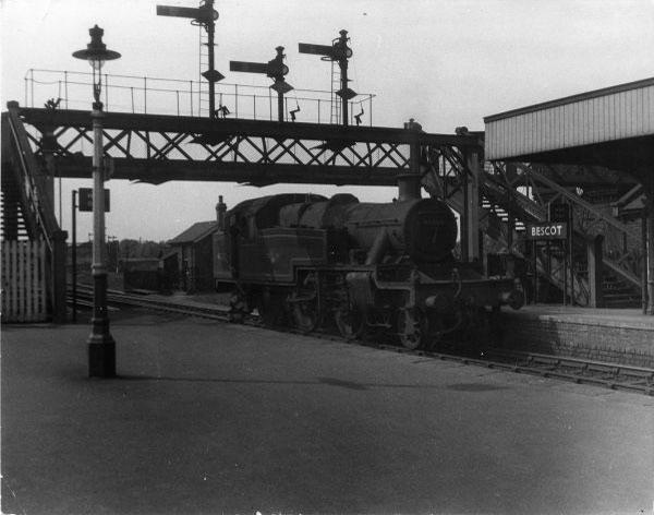 Bescot Station, Light engine 1958